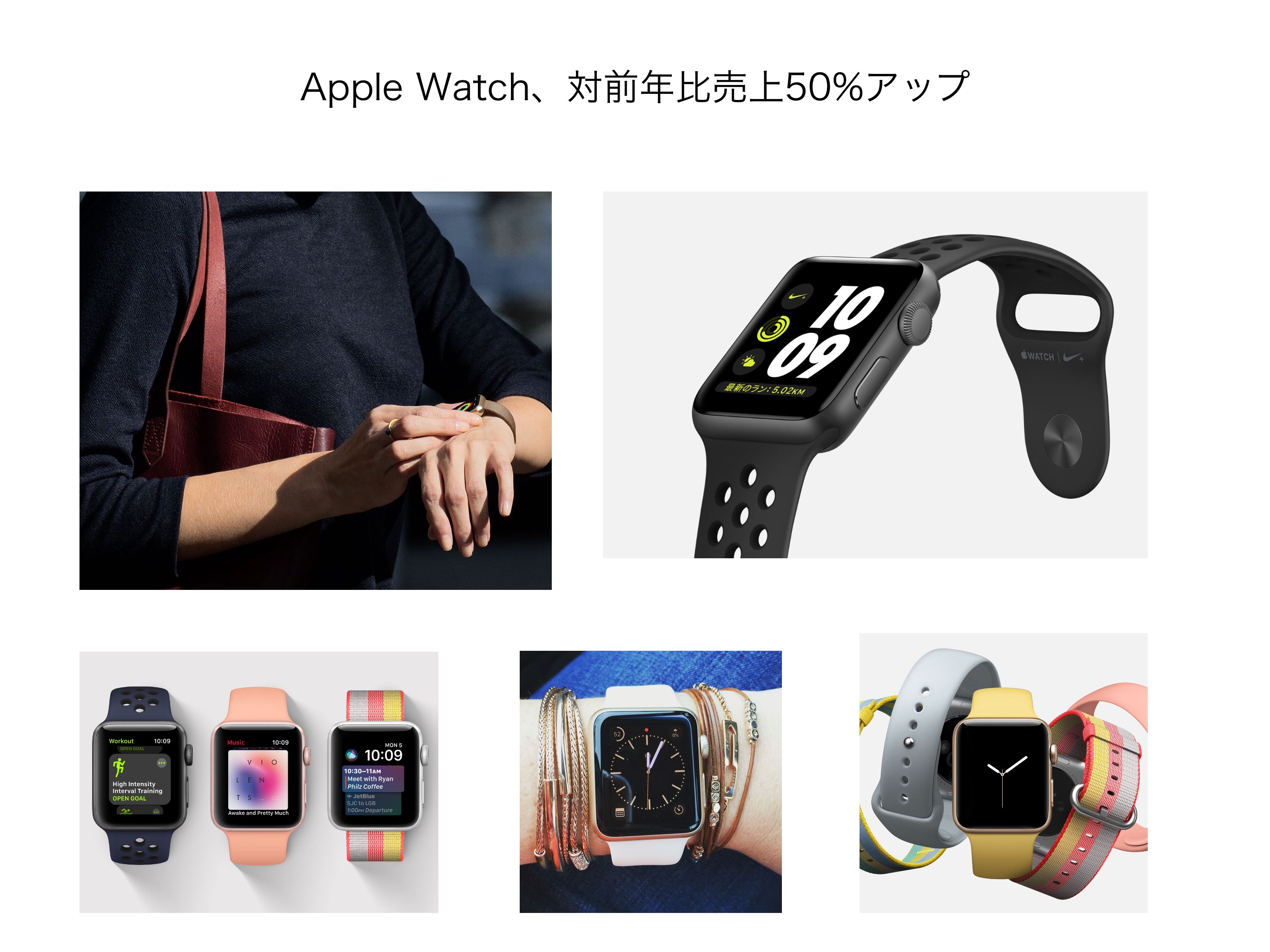 Apple Watchアップ