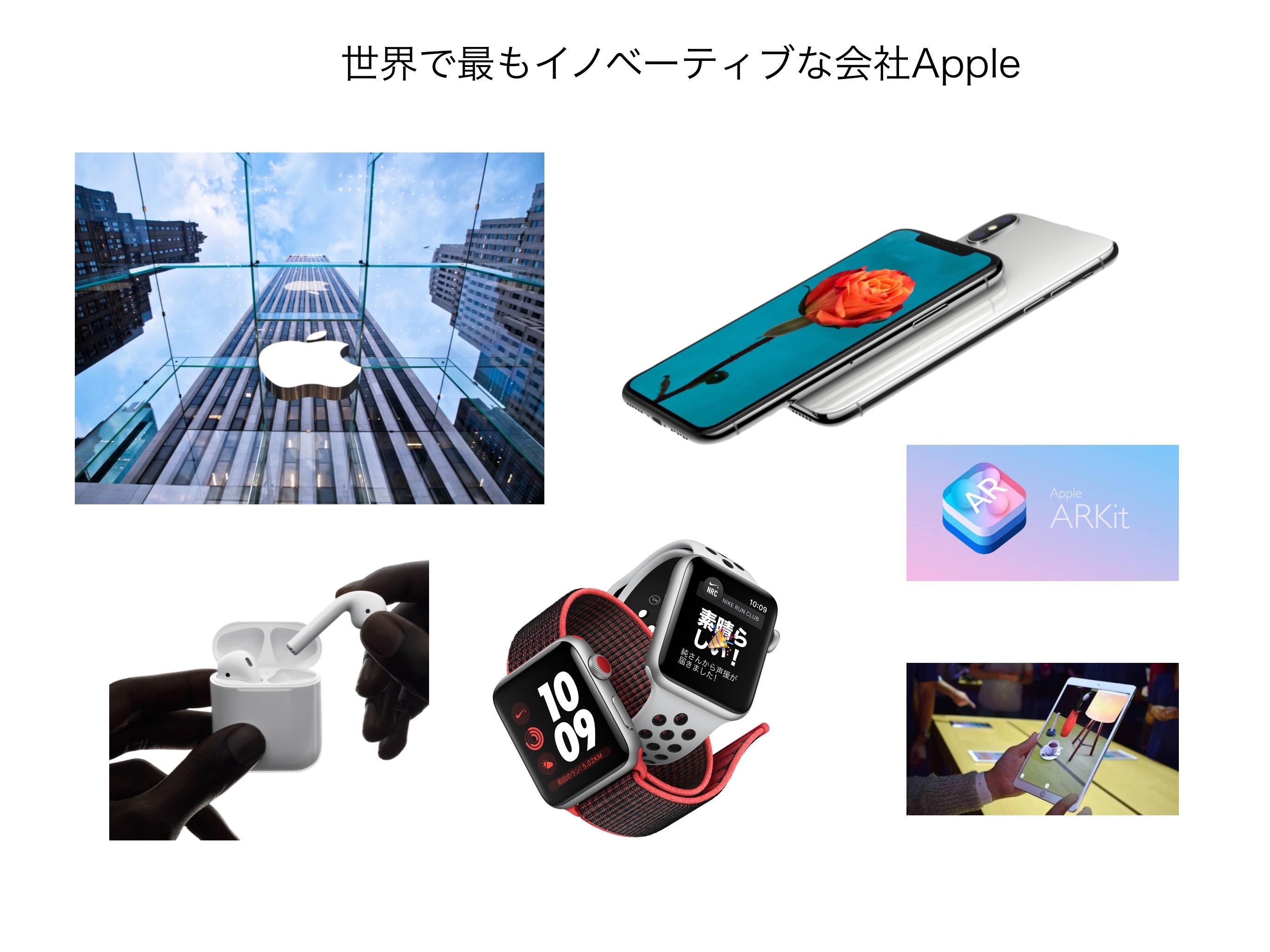 アップル イノベイティブ
