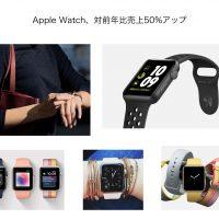 Apple Watchアップ