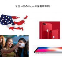 米国10代iPhone